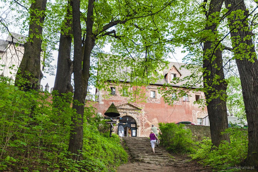 Wejście do Zamku Grodno