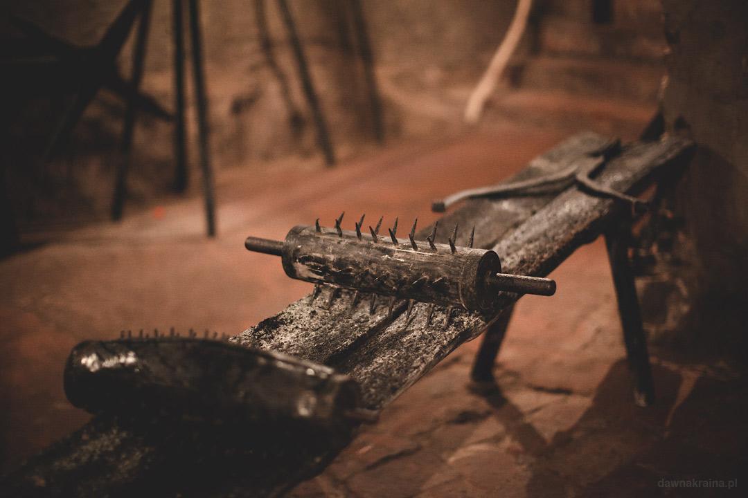 Sala tortur na Zamku Grodno