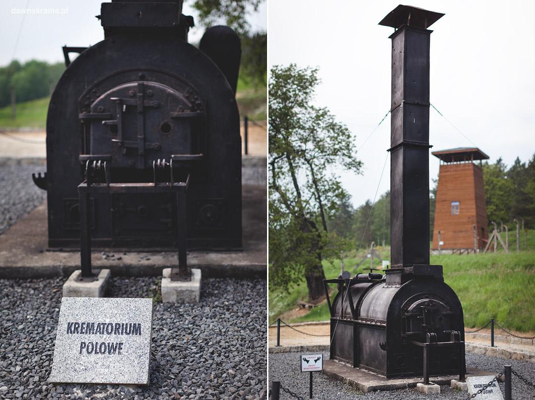 Krematorium polowe w Gross-Rozen w Rogoźnicy