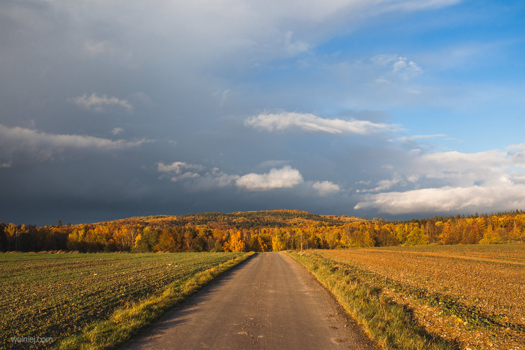 Jesień w okolicy Radiostacji Rudiger
