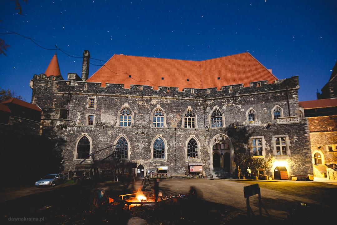 Zamek grodziec. Noc na średniowiecznym zamku na Dolnym Śląsku