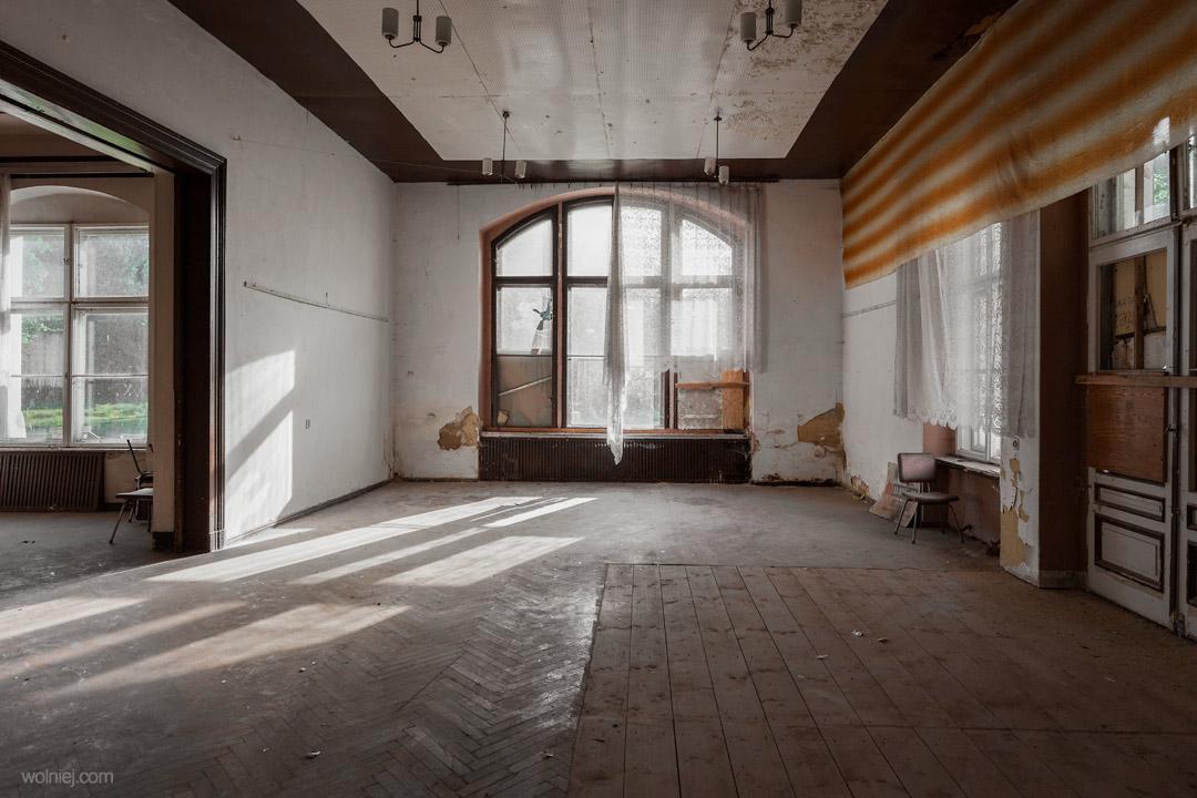 Przestrzenie w Pałacu Targoszyn