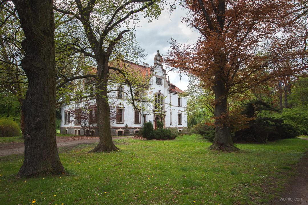 Ogrody Pałacu Targoszyn w gminie Mściwojów