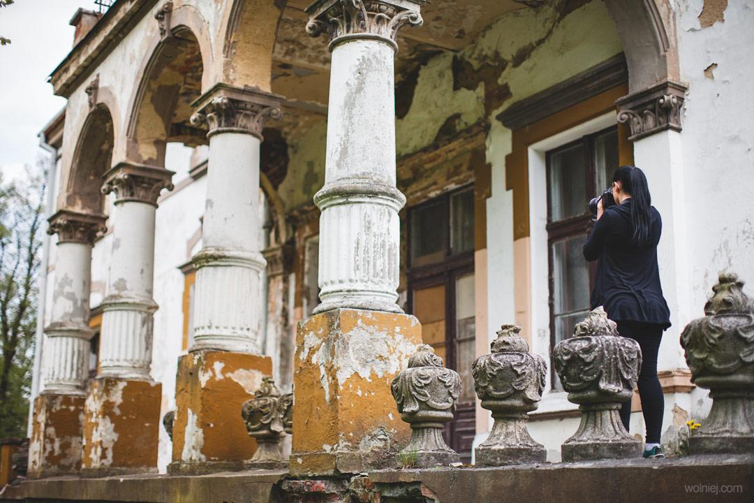 Eksploracja Pałacu Targoszyn