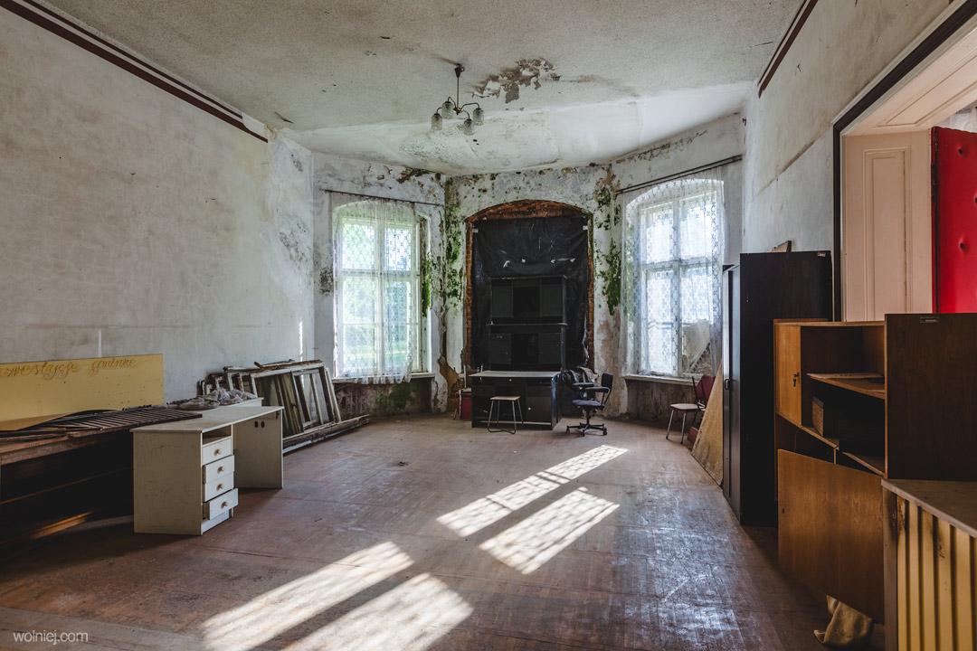 Wnętrza Pałacu w Targoszynie