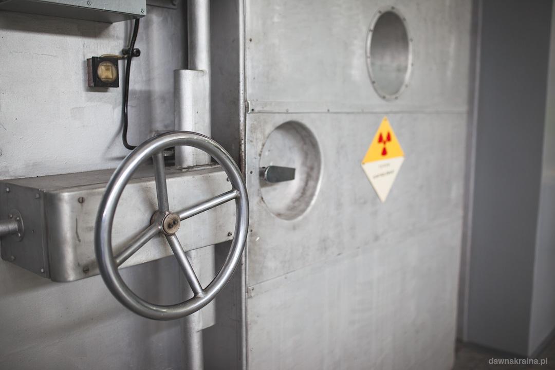 Wejście do reaktora Maria
