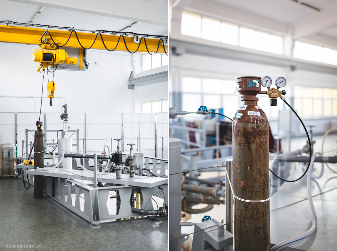 detale repliki reaktora Maria