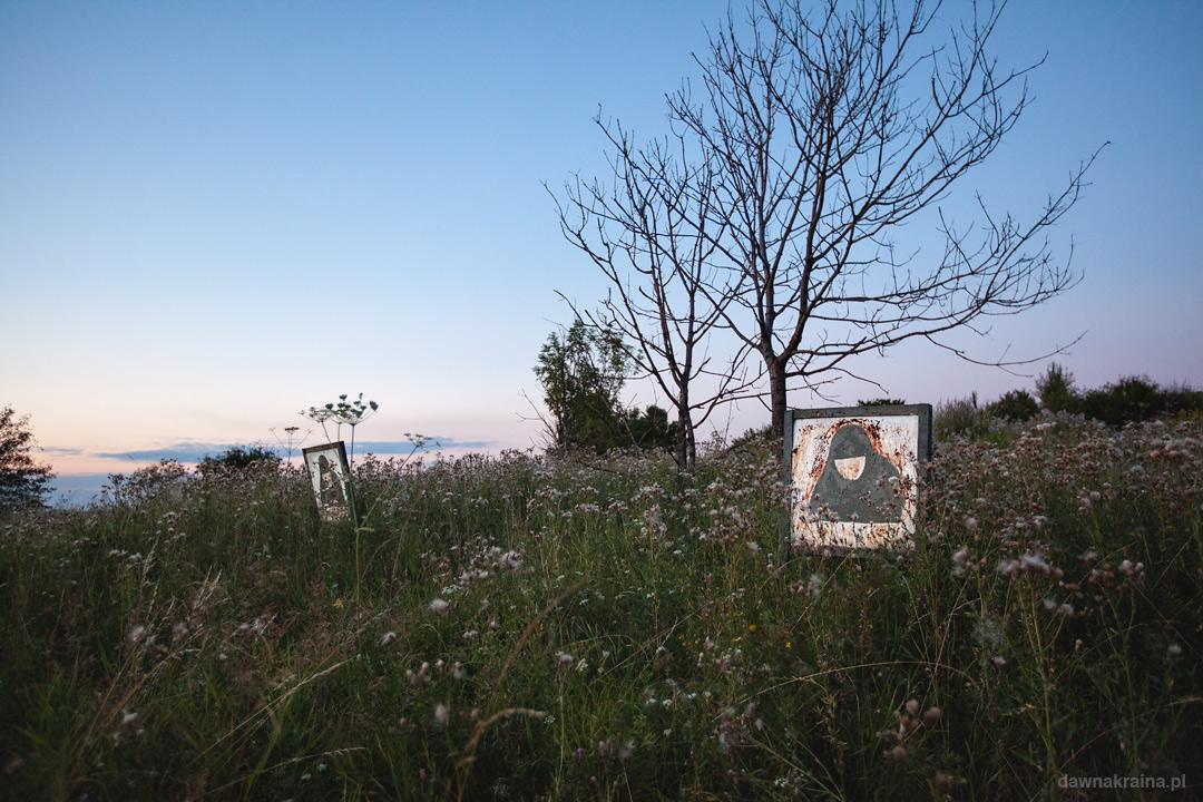 Była strzelnica w bazie radiolokacyjnej wojsk lotniczych w Miłkowej