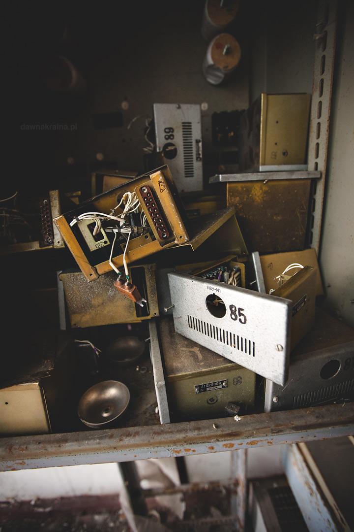 Stara elektronika . Radar Duga zwany Oko Moskwy w Czarnobyl 2