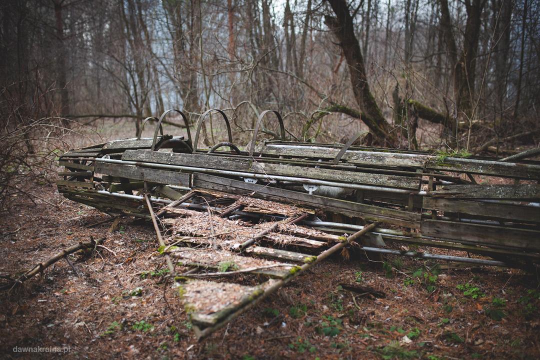 Mig 21 zrobiony z dipoli w Czarnobyl 2
