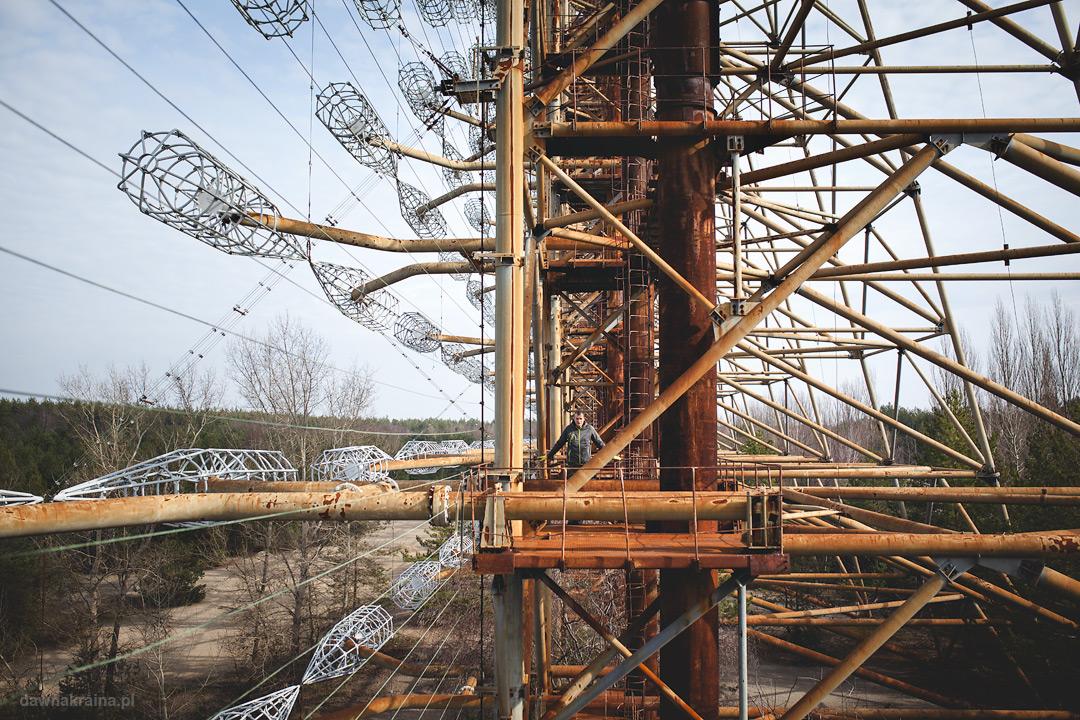 Radar Duga zwany Oko Moskwy w Czarnobyl 2
