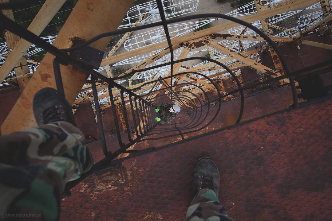 Radar Duga zwany Oko Moskwy w kompleksie Czarnobyl 2