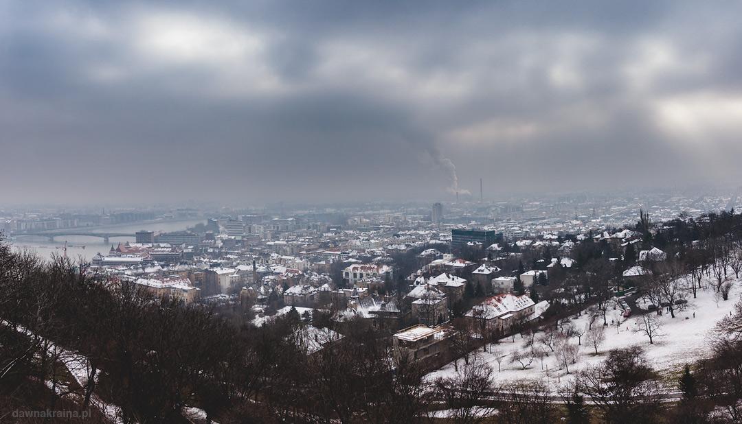 Budapeszt zimą