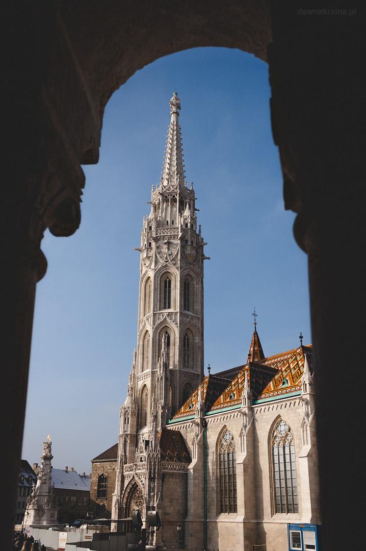 widok na Kościół Macieja