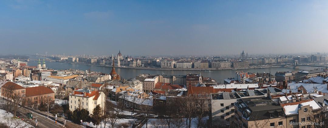 panorma Budapesztu