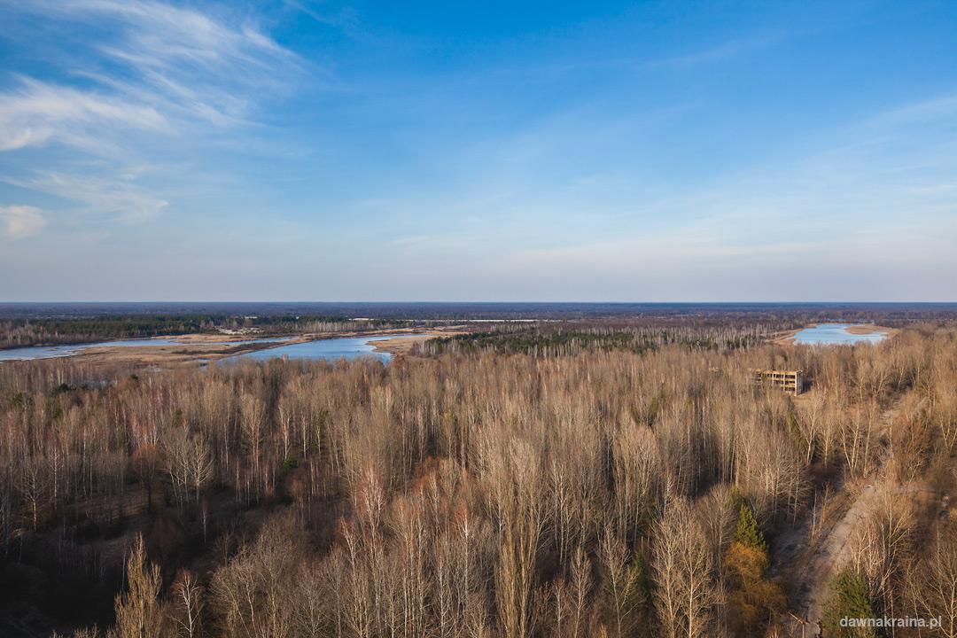 Wodok na jeziora i bagna oraz Białoruską część Strefy Zamkniętej