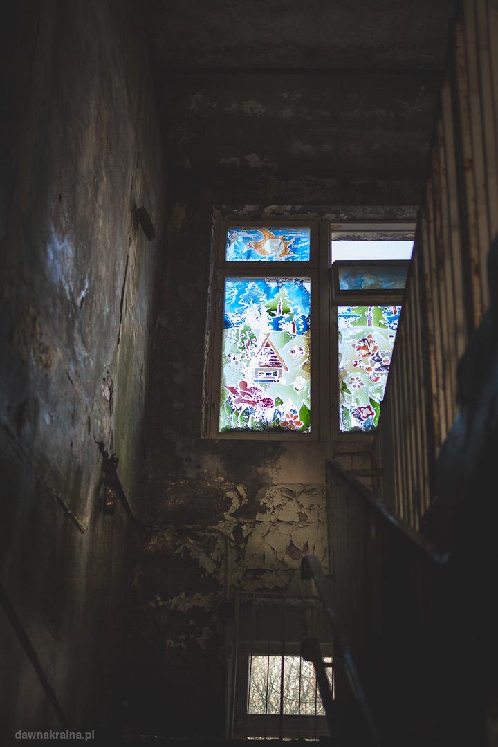 Kaltka schodowa w przedszkolu Czeburaszka