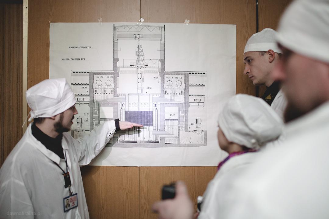 Anton tłumaczyl zasadę działania i budowę reaktora RBMK-1000 pracującego w czarnobylskiej Elektrowni