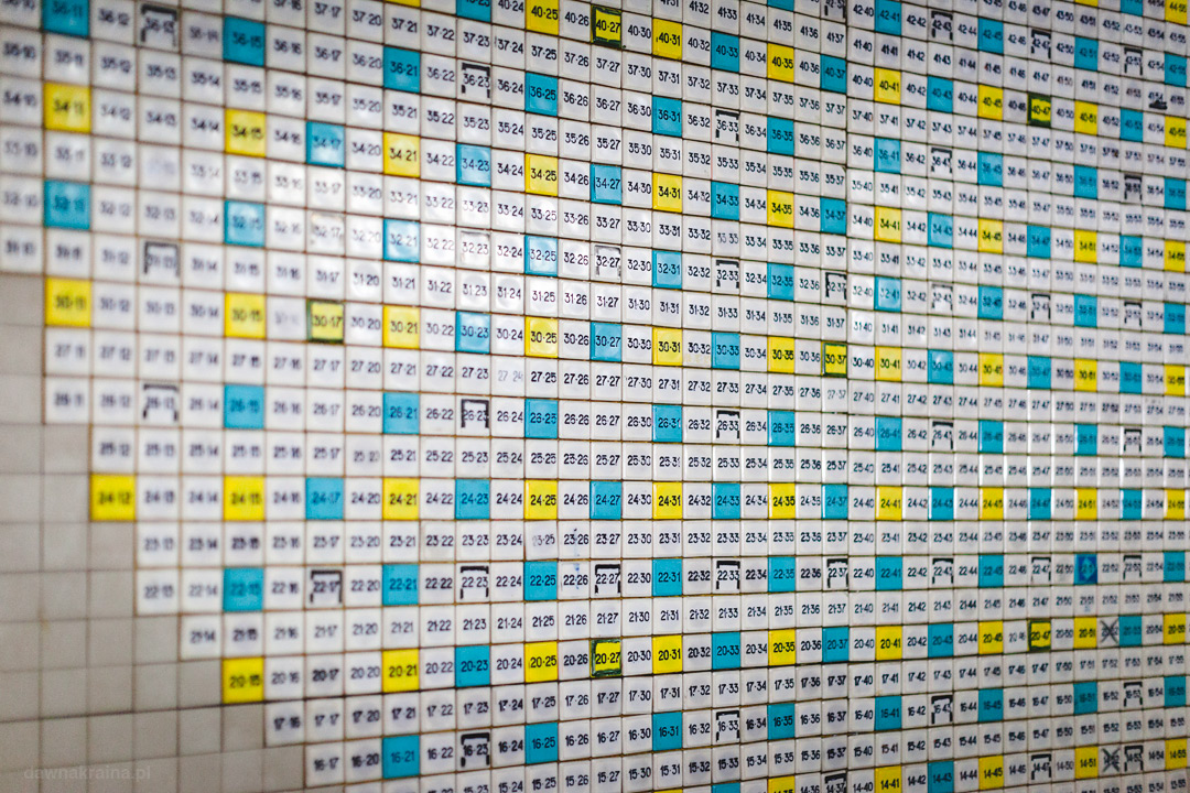 tablica kontrolna prętów paliwowych trzeciego bloku w elektrowni Czarnobylskiej