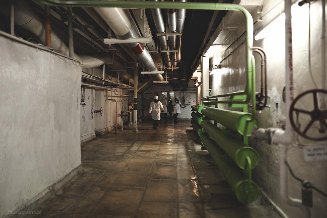 Korytarze trzeciego bliku elektrowni w Czarnobylu