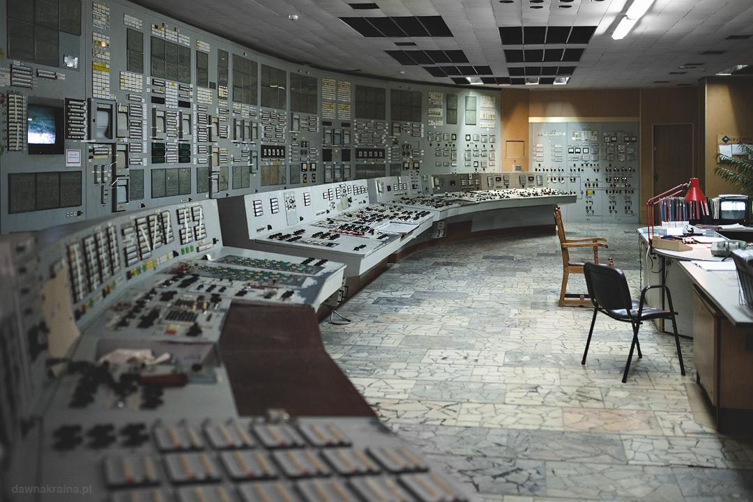 Sterownia bloku trzeciego w Czarnobylskiej Elektrowni
