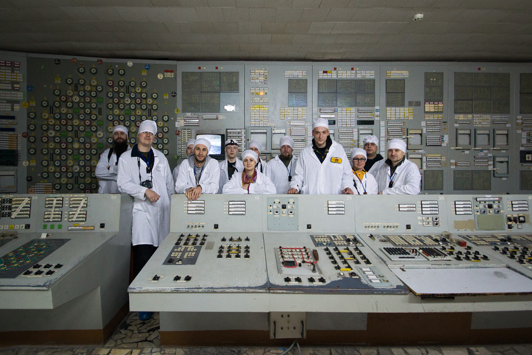 nasza ekila napromieniowanych w sterowni bloku trzeciego w Czarnobylskiej elektrowni atomowej