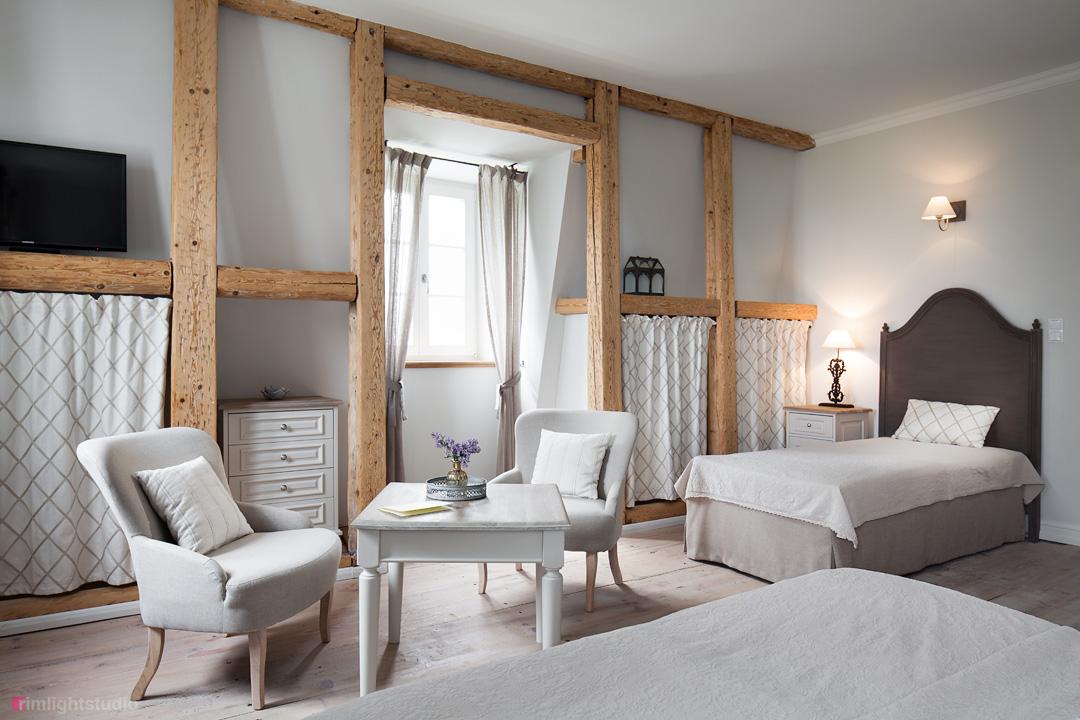 Sypialnia w Pałacu Kamieniec.