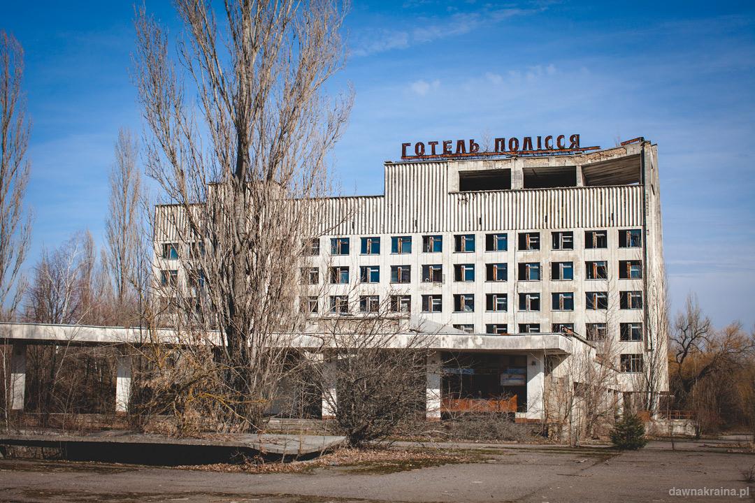 Prypeć- Hotel Polesie