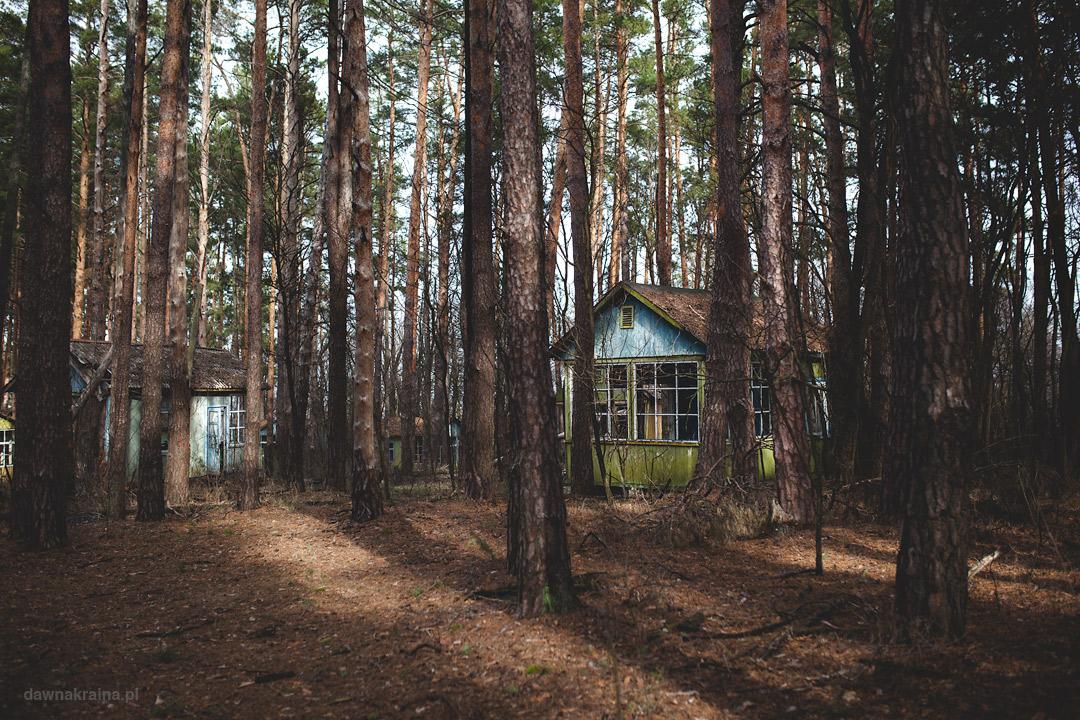 Obóz dziecięcy Szmaragd niedaleko Prypeci.