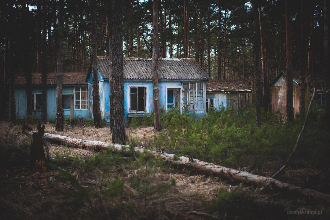 Obóz dziecięcy Szmaragd w Przypeci.