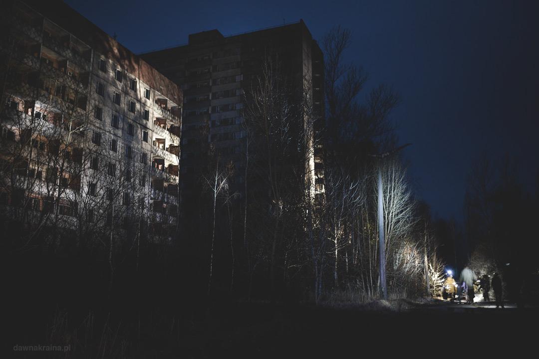 Nocna eksploracja Prypeci. Wyprawa do Strefy Wykluczenia wokół Elektrowni w Czarnobylu