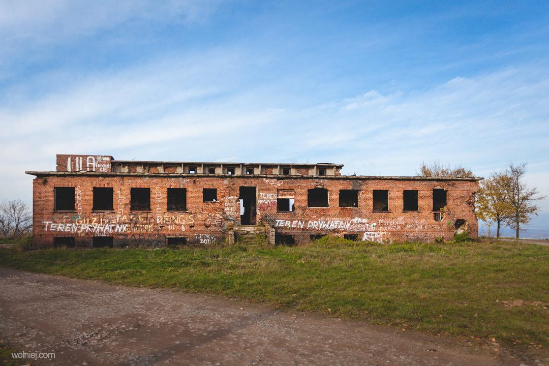 Radiostacja Rüdiger 2 główny budynek