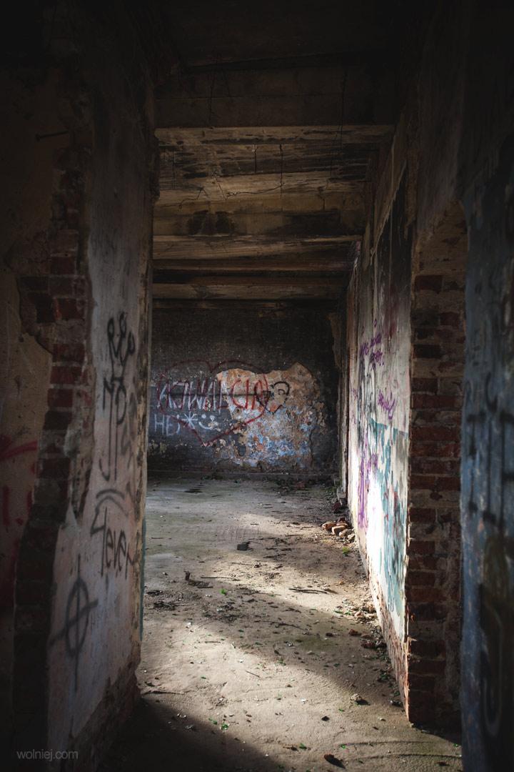 korytarz w Radiostacja Rüdiger