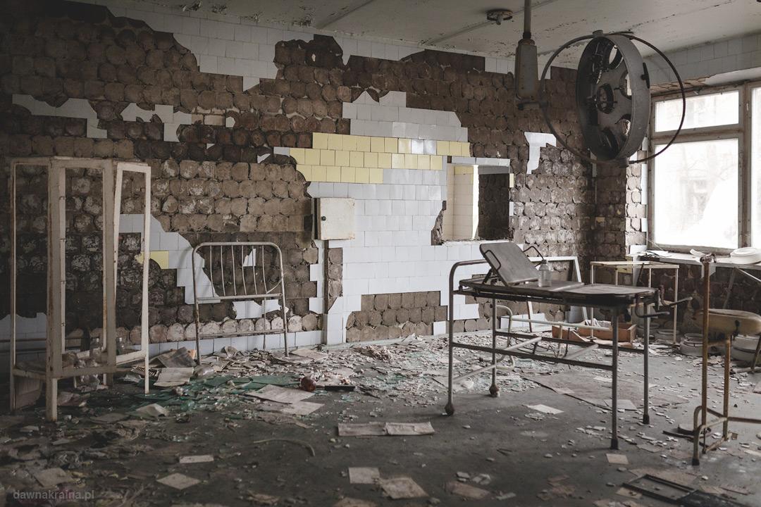 sala operacyjna w Prypeci