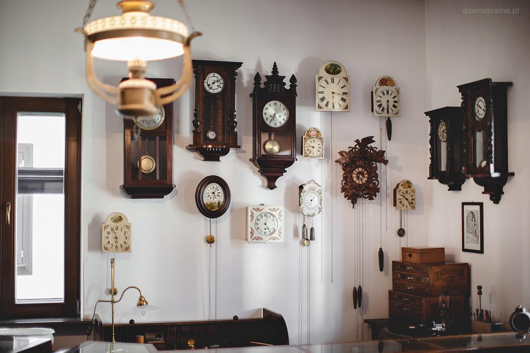 Zegarmistrz. Miasteczko Galicyjskie w Nowym Sączu