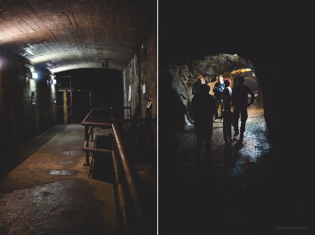 Wnętrza Kompleksu Rzeczka. Korytarze i hale. Wizyta w kompleksie Rzeczka w Walimiu.
