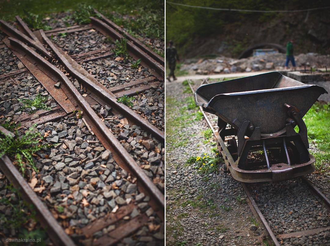 Espozycja sprzętu górniczego w Kompleksie Rzeczka.