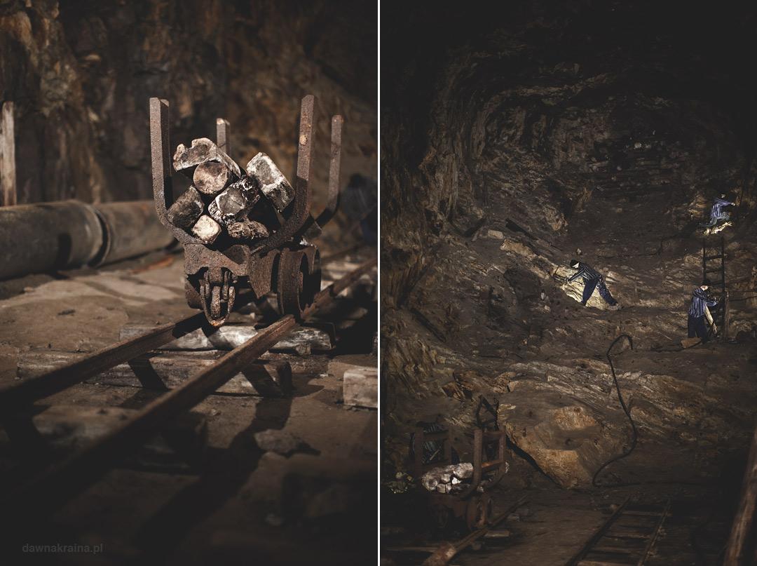 Niedokończone tunele w kompleksie Rzeczka. Tu zginęło tysiące więźniów podczas nieludzkiej pracy.