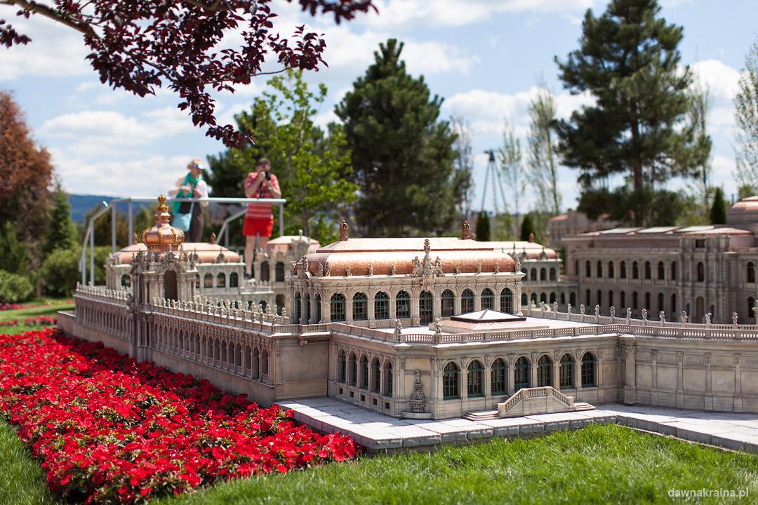 Miniatura Pałacu Zwinger