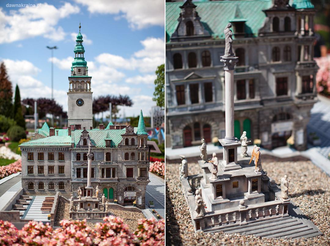 Miniatura Ratusza w Kłodzku