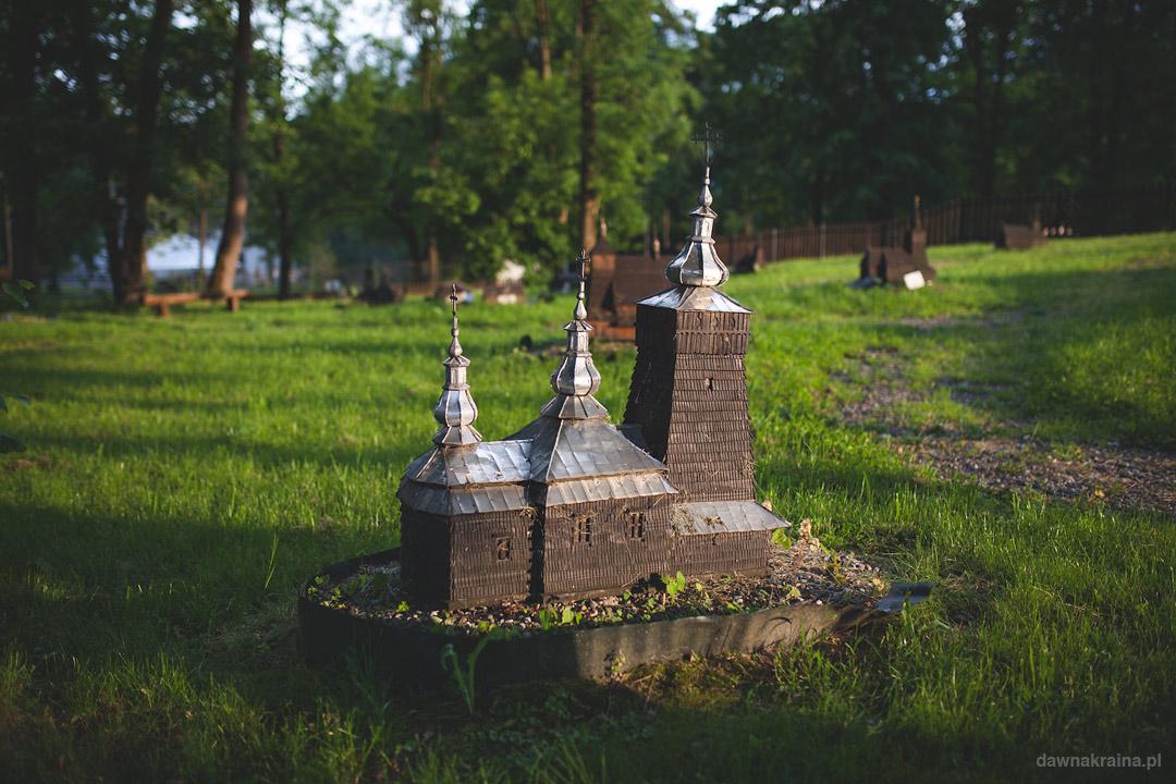 Park Miniatur w Ropie, jedna z miniatur