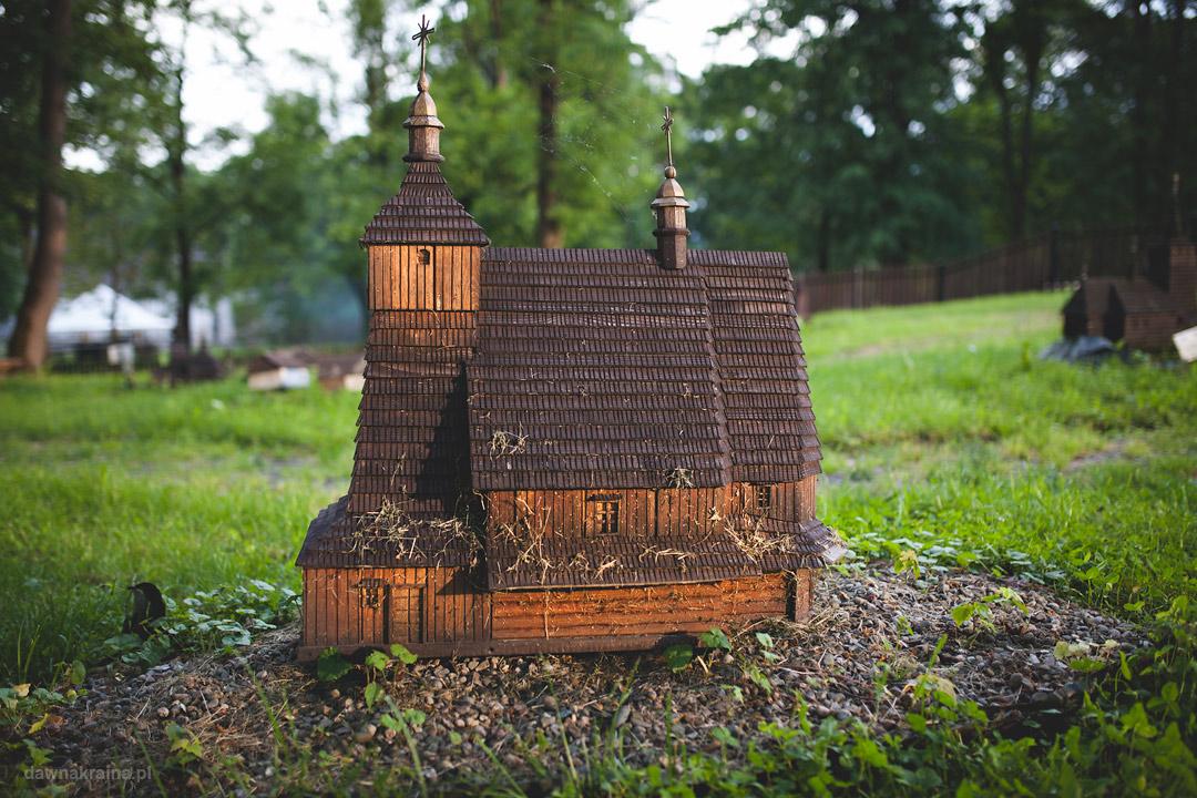 Park Miniatur w Ropie, mała cerkiew