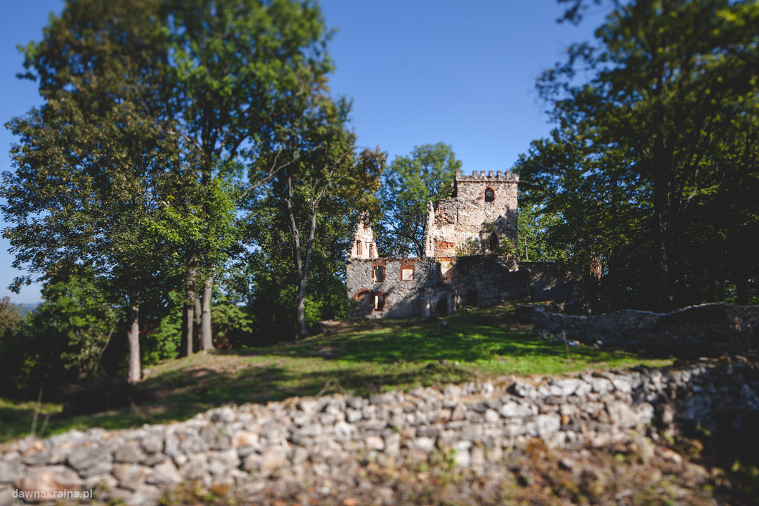 Ruiny Zamku Lipa