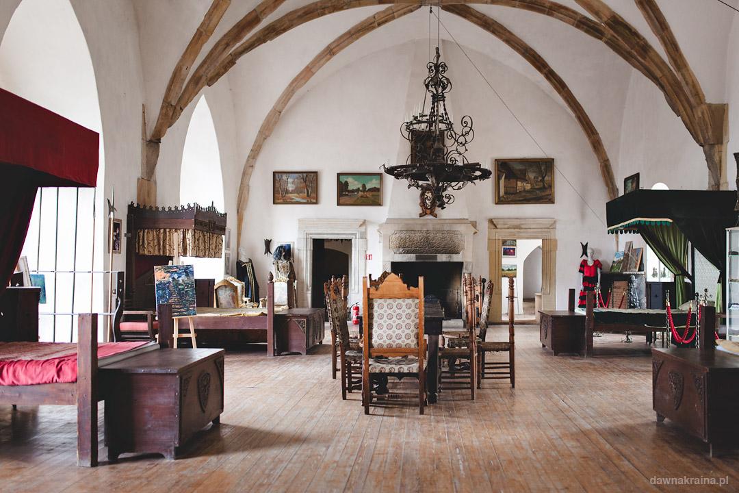 Sala książęca w Zamku Grodziec