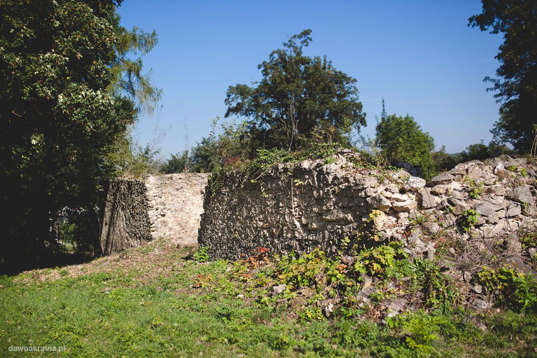 Zamek Lipa - ruiny