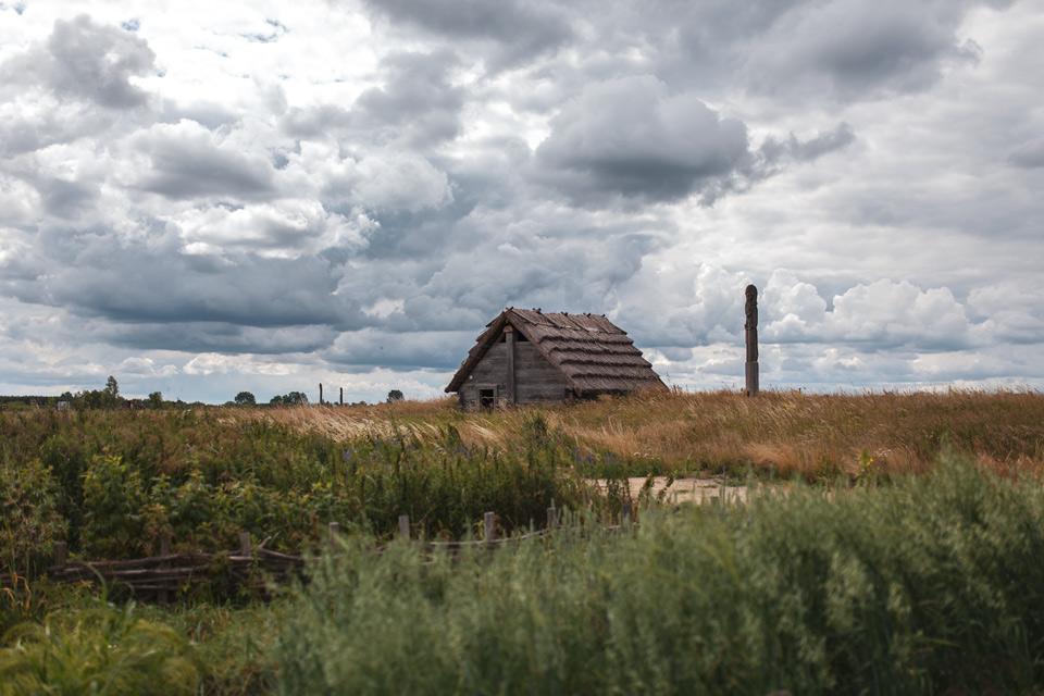 Grodzisko Żmijowiska, budowa pieca szklarskiego
