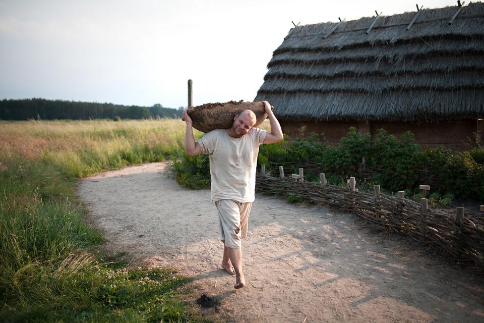 Grodzisko Żmijowiska budowa pieca do wytopu szkła