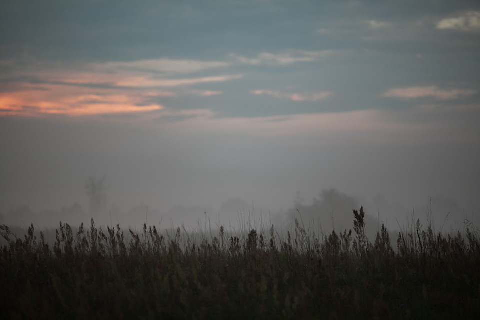 Zachód słońca na Żmijowisdkach