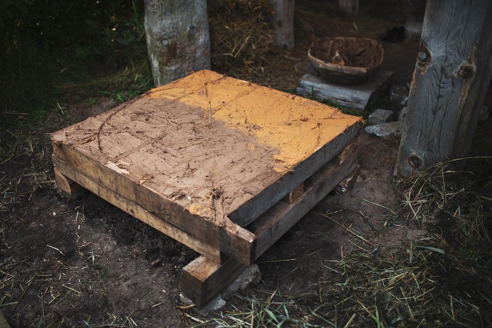budowa pieca chlebowego na Żmijowiskach