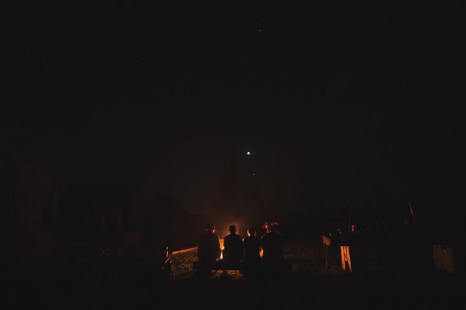 Zaćmienie księżyca na Żmijowiskach